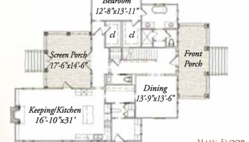 House Plan  Henderson Road by Our Town Plans    ArtFoodHome comHouse Plan  Tall Oak Road by Our Town Plans