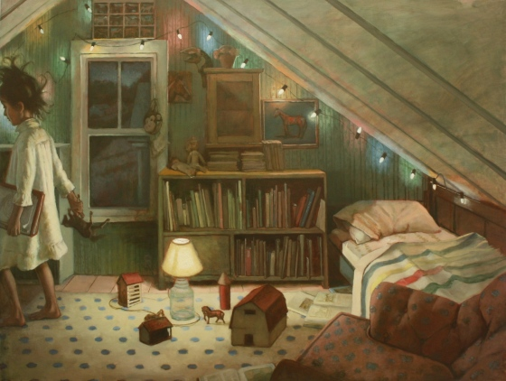 Shawn Fields |Honey's Room (Horses) |artfoodhome.com