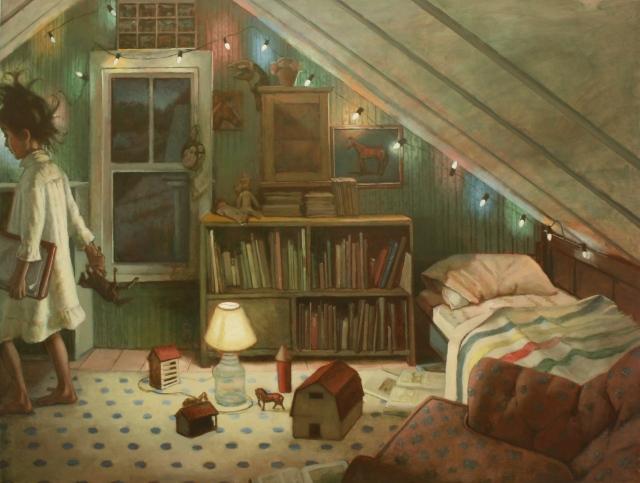 Shawn Fields  Honey's Room (Horses)  artfoodhome.com