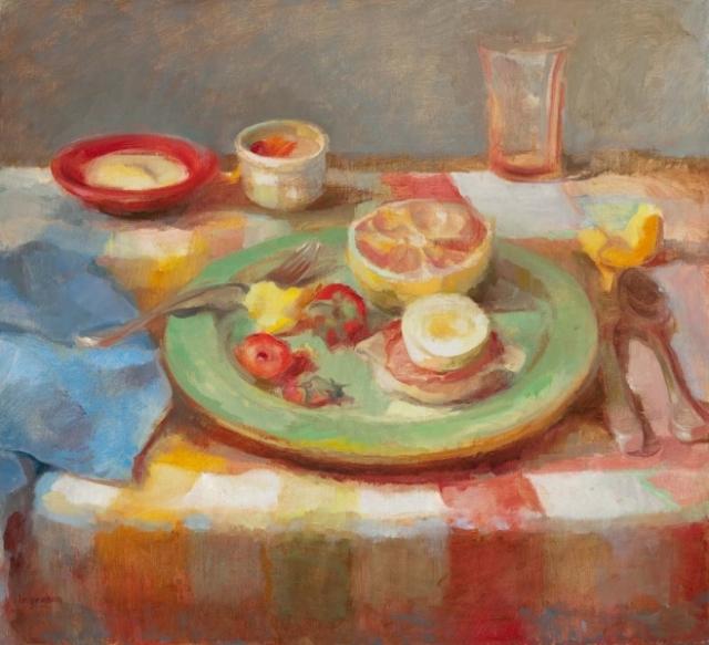 Islanders Breakfast by Tina Ingraham