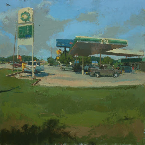 BP Station by Peter Van Dyck