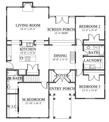 Noah's Cottage (C0613) by Allison Ramsey Architect