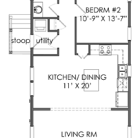 House Plan: The TNH B 08C plan by Moser Design Group!
