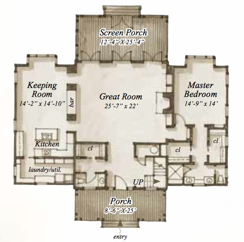 House Plan 54 Wilmington Place By Our Town Plans
