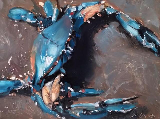 Blue Crab by David Simons