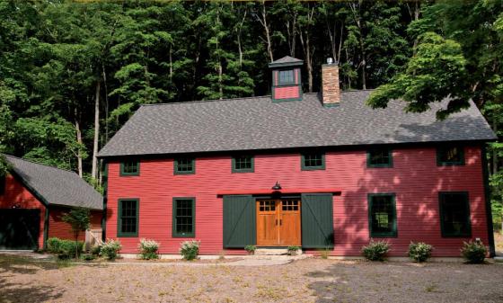 Yankee Barn Homes   Sawyer Farmhouse