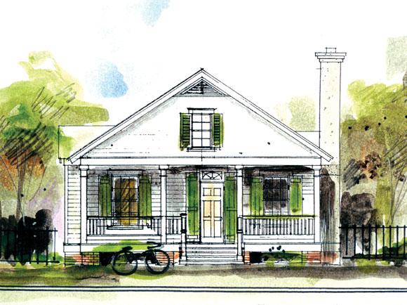 Berryville House Plan by John Tee