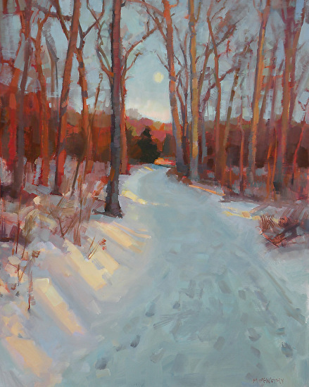 Winter Sunrise by Margaret McWethy