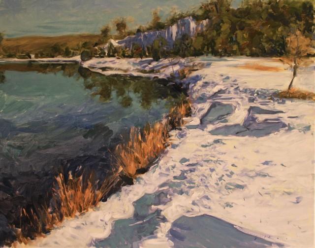 Derek Gollaher painting