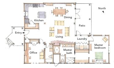 2013 Best Retirement Home Plan Architect Jon Nystrom