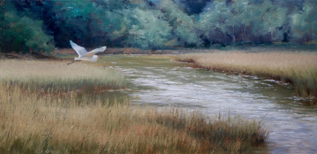 Wind on the Water by Mary Erickson