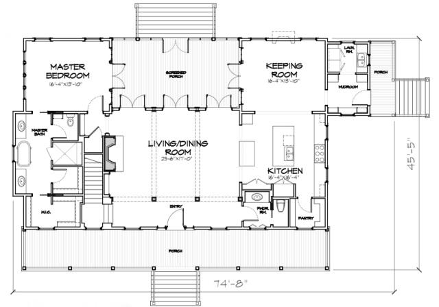 248 Abbeville | Our Town Plans Main