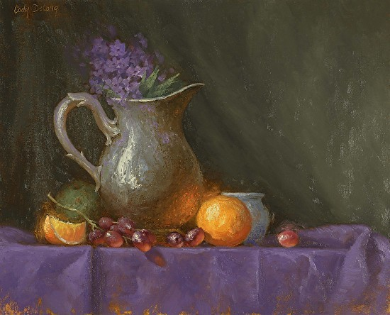 Pewter Purple n' Orange by Cody Delong