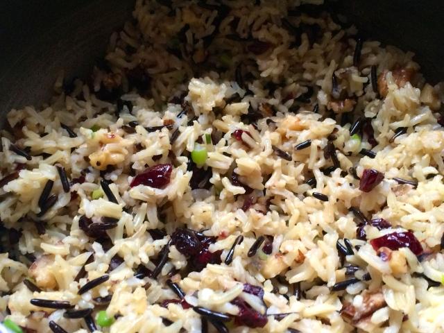Wild Rice side dish