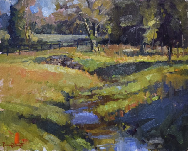 Meandering Creek by Pam Padgett 16x20