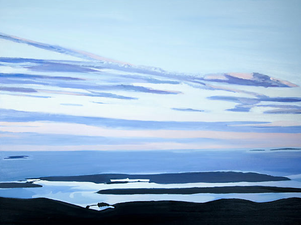 Last Light by Lindsay Hopkins-Weld 30x40 Oil