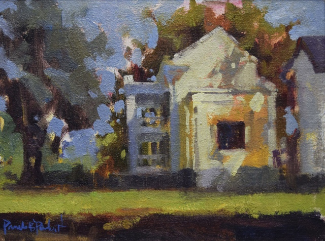 Sevier Plantation House by Pam Padgett 9x12