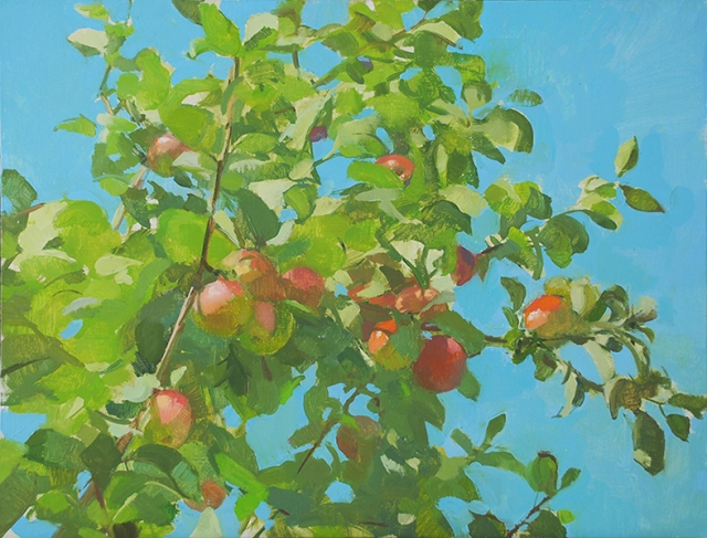 Apple Tree by Elise Schweitzer 29x22