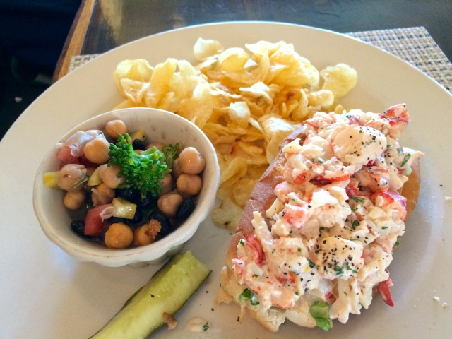 Island Inn Monhegan Lobster Roll