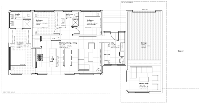 Pemberton house plan by Karoleena