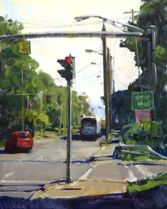 City of Utica by Chad Smith 20x16 Oil
