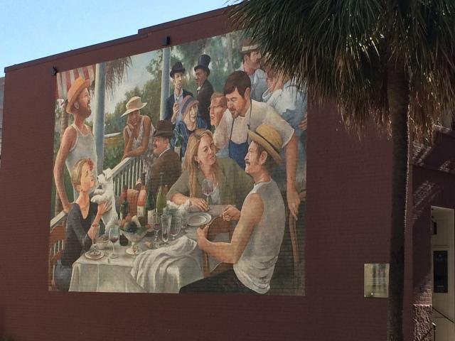 Husk Mural Charleston