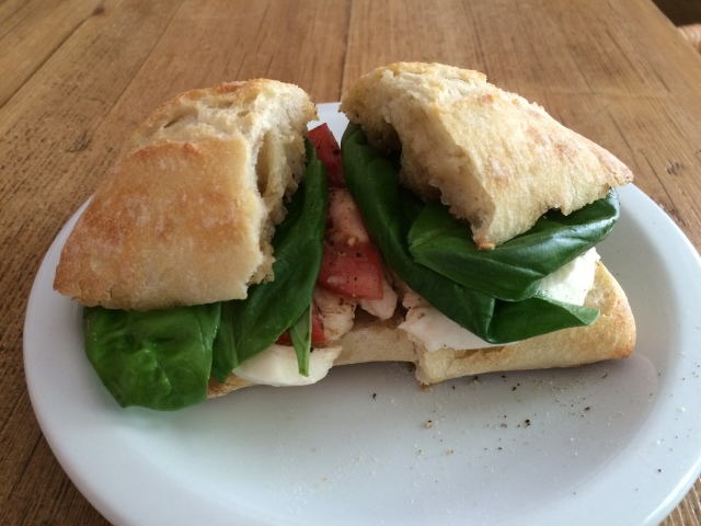 Caprese Sandwich!