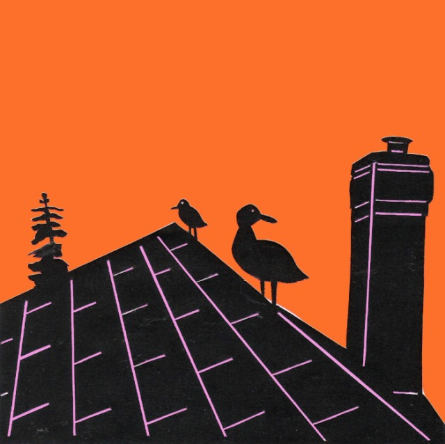 Island Inn Rooftop by Dylan Metrano (SOLD)