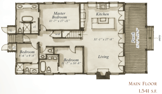 Check Out The 27 Aiken Street House Plan By Our Town Plans
