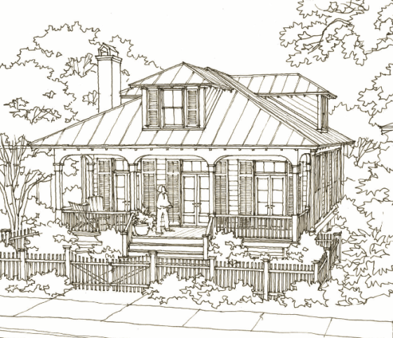 Check out the Aiken Street House Plan by Our Town Plans     Aiken Street by Our Town Plans