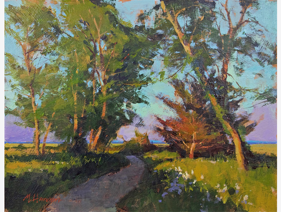 A Little Cedar by Marc Hanson 11x14 Acrylic