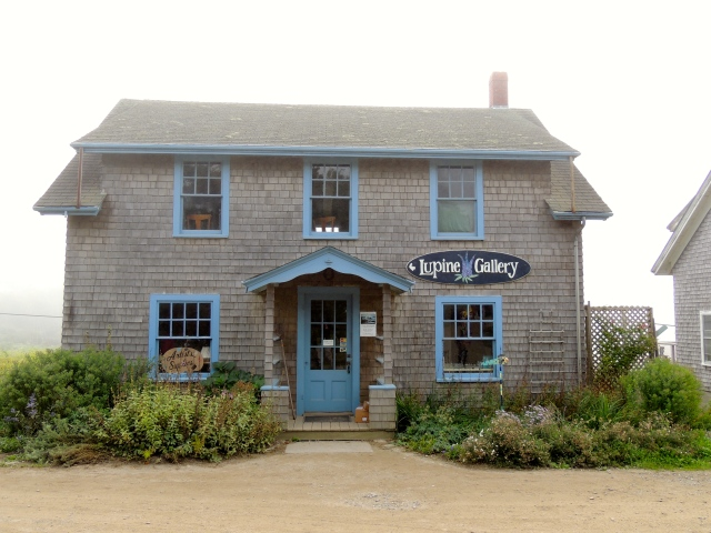 Lupine Gallery, Monhegan, Maine