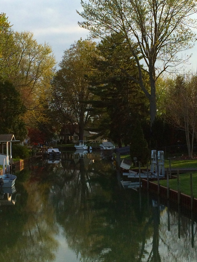Canal in Michigan