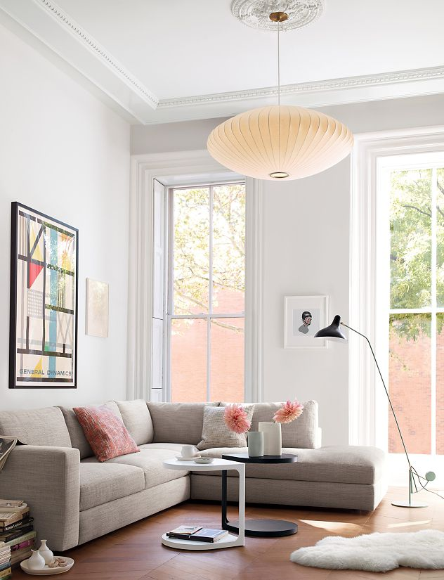 lighting] the nelson saucer pendant lamp from design within reach