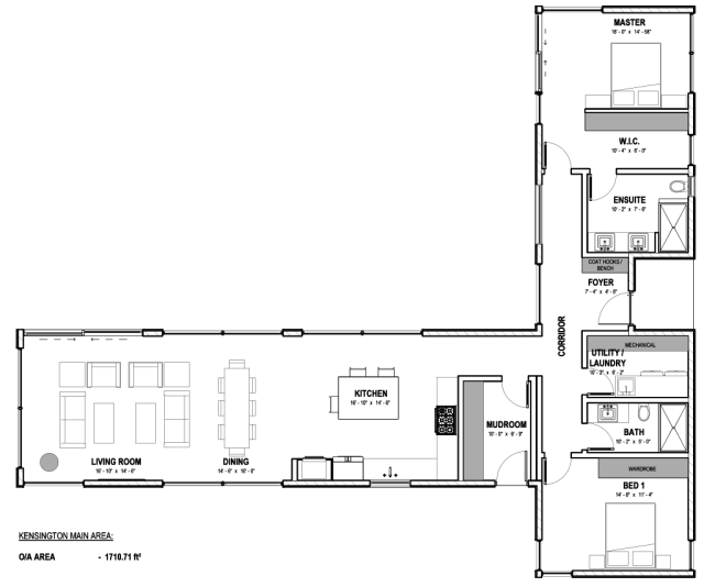 The Kensington Plan by Karoleena MAIN