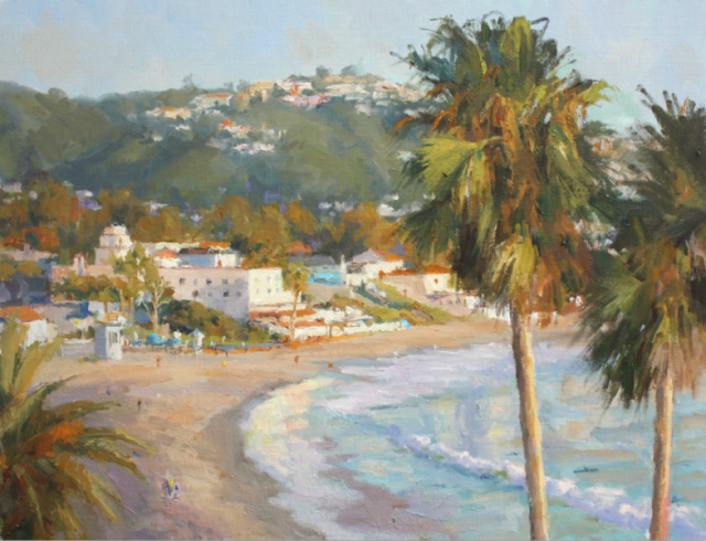 Above Laguna by David Damm 14x18 Oil