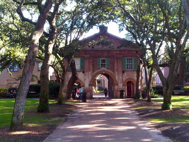 Cistern at the College of Charleston