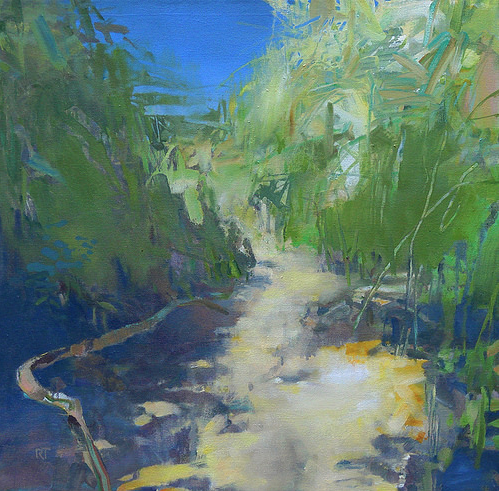 Path to the Sea by Randall Tipton 24x24 Oil
