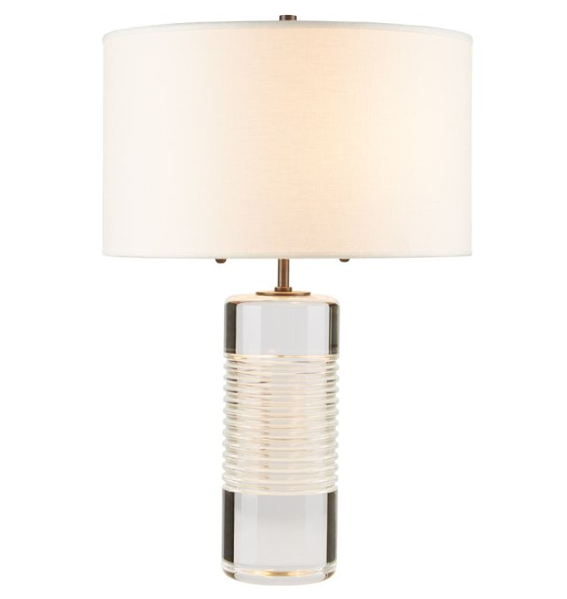TALL CUT CRYSTAL TABLE LAMP by Rejuvenation.com