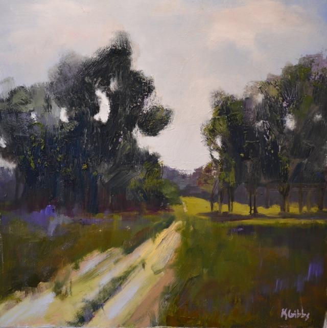 Dusty Road by Kim Gibbs 24x24 Oil