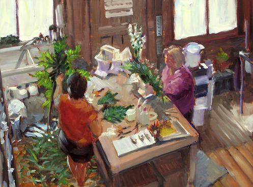 fiddleheads-by-robert-beck-12x16-oil