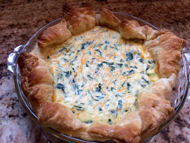 Quiche with Puff Pastry
