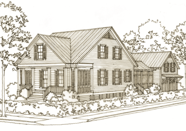 The 21 Bayou La Batre Way House Plan by Our Town Plans