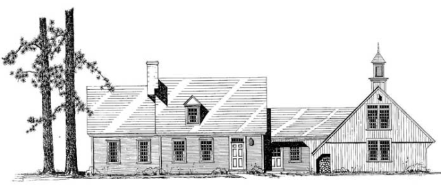 The Wellfleet Cape by Classic Colonial Homes