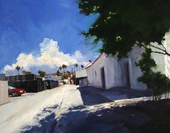the-alley-san-clemente-by-susan-cox-40x48-oil