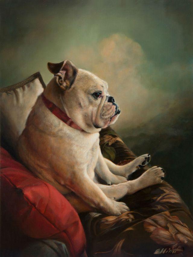 dog-day-by-teresa-elliott-40x30%22-oil-gallery-1261