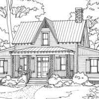 Milledgeville Terrace House Plan by Our Town Plans!