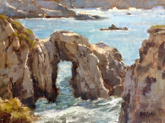 point-lobos-arch-by-barbie-smith-9x12