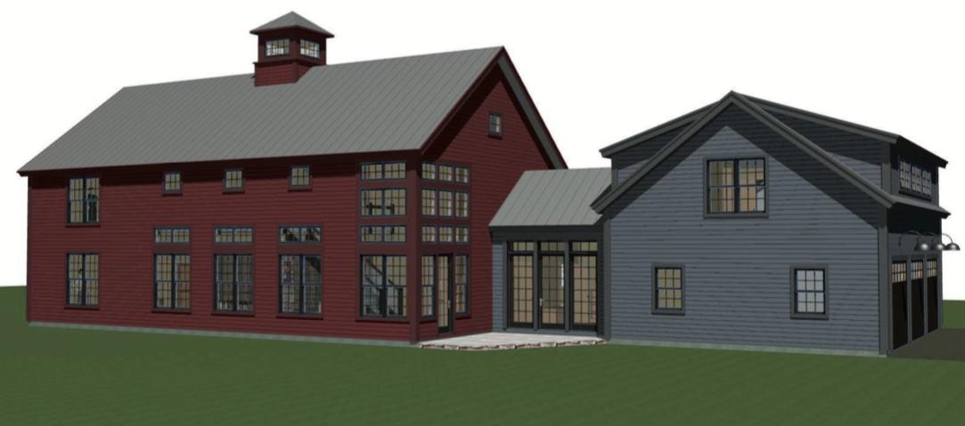 The Bancroft House Plan By Yankee Barn Homes