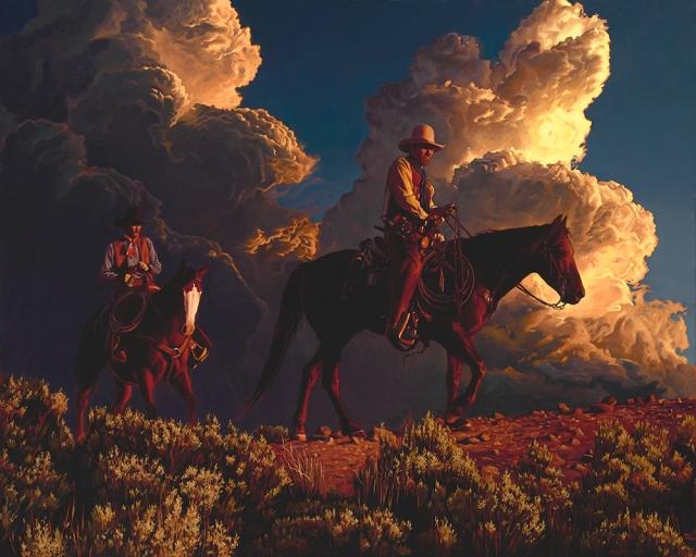 thunderhead-riders-by-mark-maggiori-24x30-oil
